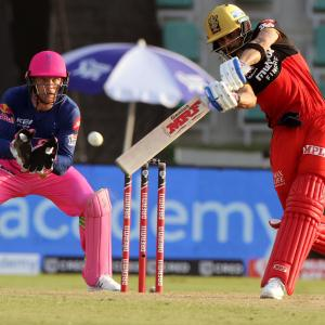 PICS: Royal Challengers too good for Rajasthan Royals