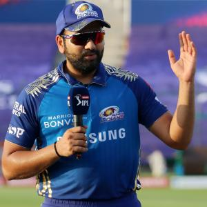 What Rohit is like as captain? In one word!