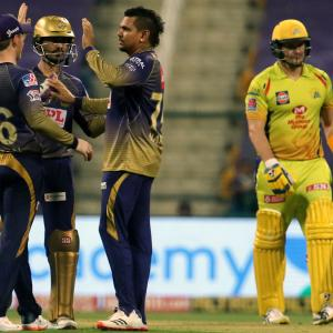 Angry Dhoni slams CSK batsmen after losing to KKR