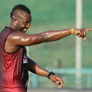 Is Andre Russell saving best for the last?