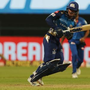 PICS: Mumbai Indians go top after fine all-round show