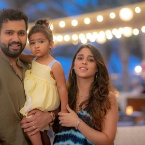 IPL 2020: CUTEST dad-daughter duo