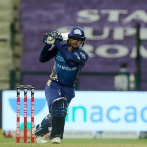 PICS: Mumbai Indians make short work of Knight Riders