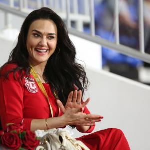 IPL PIX: The many moods of Preity Zinta