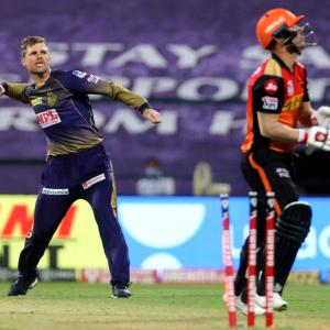PIX: Ferguson's Super spell helps KKR edge past SRH