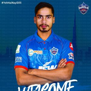 Leggie Pravin Dubey replaces Mishra in Delhi Capitals