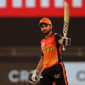 PICS: Pandey shines as SunRisers outclass Royals
