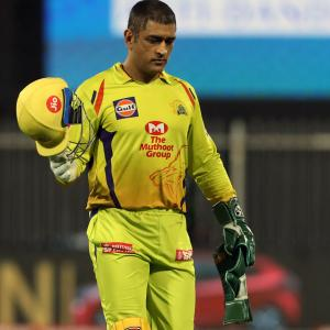 Captain Dhoni concedes CSK did not play to potential