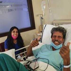 Kapil Dev discharged from hospital