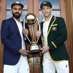 Check out India's tour of Australia schedule