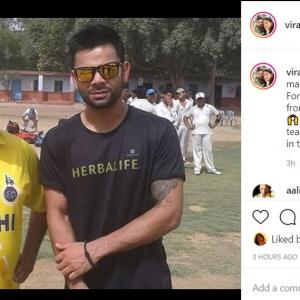 'Grateful' Kohli's tribute to his childhood coach