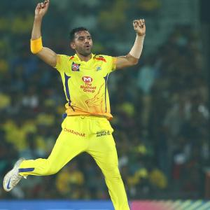CSK's Deepak Chahar tests negative for COVID-19