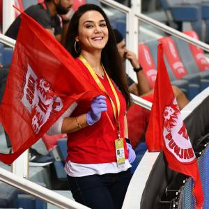 PIX: Preity cheers for Kings XI in Dubai