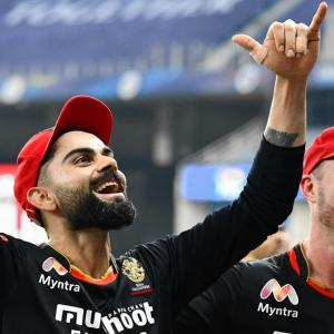 Why did Kohli roar?