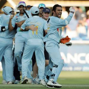 On this day in 2007: Dhoni brought the T20 WC home