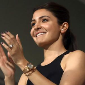 Anushka: Too exciting a game for a pregnant lady