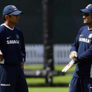 MS Tales: When Dravid blasted Dhoni...