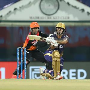 PIX: Rana leads the way as Knight Riders rout Sunrisers