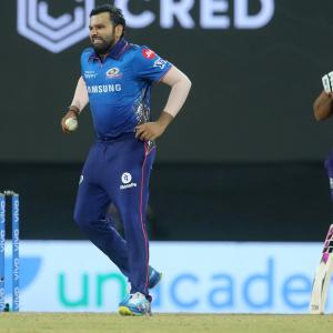 When Rohit Sharma decided to bowl...