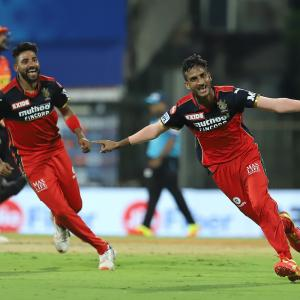 PIX: Shahbaz stars in RCB's stunning win over SunRisers