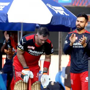 Maxwell, AB were the difference against KKR: Kolhi