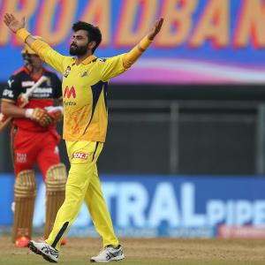 PIX: Jadeja excels with bat and ball as CSK humble RCB