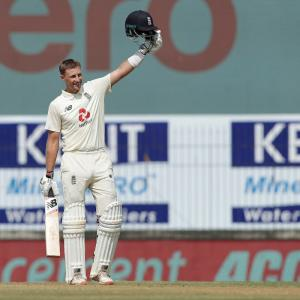 Root's double-ton puts England in command in Chennai