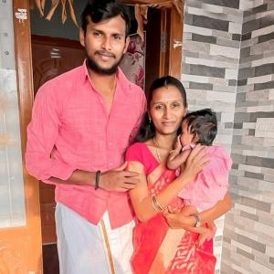 Natarajan shares adorable pic with daughter