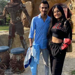 SEE: Chahal and Dhanashree's loved-up honeymoon pics