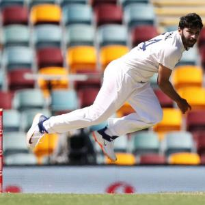 Thakur's grind from 10-ball Test debut to Brisbane