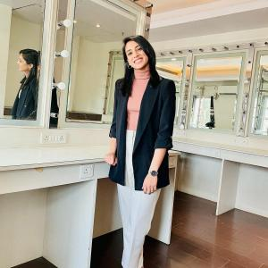Isn't Smriti Mandhana looking gorgeous?