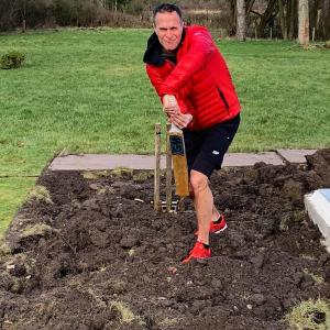 Michael Vaughan takes a dig at the pitch again