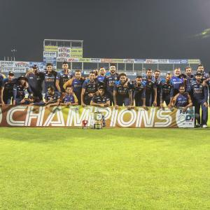 Shastri toasts Team India on 'season of lifetime'