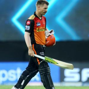 Will Warner leave SRH?