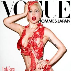Lady Gaga causes outrage with raw meat bikini