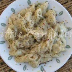 How to make Pasta in White Sauce