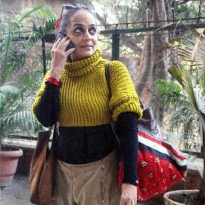 'My most beloved Delhiite, author Arundhati Roy'