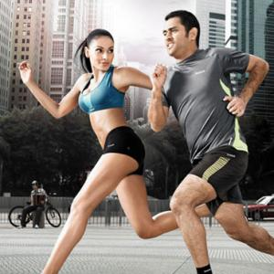 Are you fit enough to exercise with Dhoni?