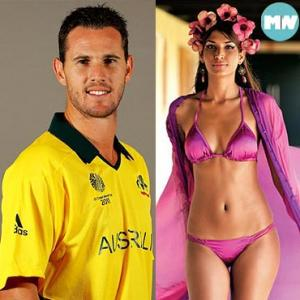 Cricket goes glam: Players who date hot pin-ups!