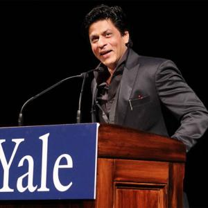 Shah Rukh Khan at Yale: 'Do not be afraid to walk alone'