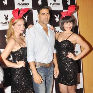 IMAGES: Stars attend Playboy's launch in India!