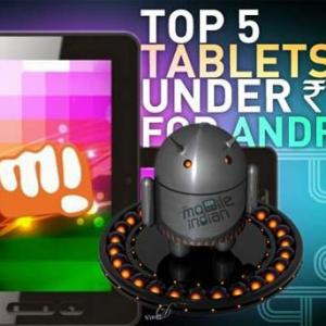 Top 5 Android tablets under Rs 10,000