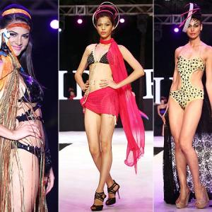 PICS: Shazahn in sexy beachwear at Resort Week