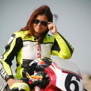 India's first and ONLY woman superbike racer