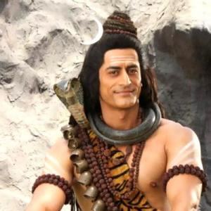 PHOTOS: How Mohit became Mahadev!