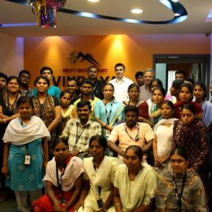 This BPO employs differently abled people. And they rock!