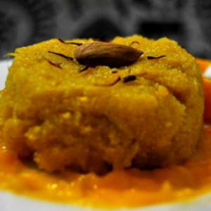 Today's special: Mango Halwa! Share your diwali recipes too!