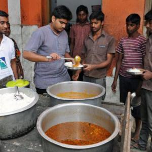 He wants to end hunger, stop food waste in India