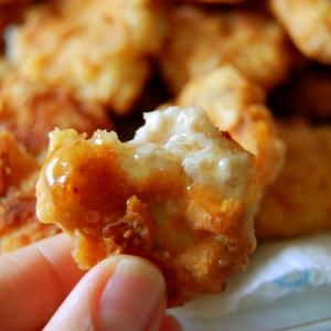 This really easy way to make chicken nuggets