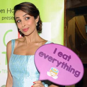 Malaika glams up a cook book launch and how!